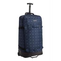 Burton Multipath 90L Checked Travel Bag Dress Blue Basket Ikat