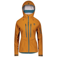 Scott Explorair DRX 3L Women's Shell Jacket Ginger Bread
