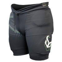 Demon Flex-Force Pro Mens Impact Shorts Black