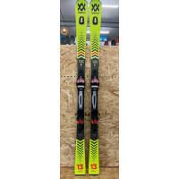 Volkl Racetiger SL 2021 Ex-Demo Skis + Rmotion 12 GW Bindings 165cm
