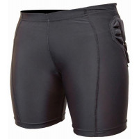 Demon SKIN Womens Impact Shorts Black
