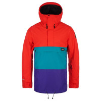 Planks Happy Days Mens Anorak Hot Red