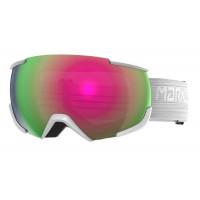 Marker 16:10+ Goggles Snowwhite - Pink Plasma Mirror + Clarity Mirror Lens