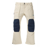 Burton Southside Mens Pants Almond Milk / Dress Blue 2020