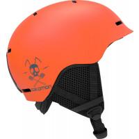 Salomon Grom Junior Ski + Snowboard Helmet Flame