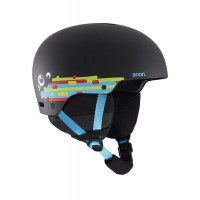 Anon Rime 3 Junior Ski + Snowboard Helmet Hurrrl Black 2020