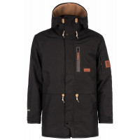 Planks The People's Parka Unisex Jacket Black