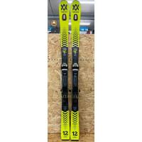 Volkl Racetiger SC Yellow 2021 Ex-Demo Skis + Vmotion 12 GW Bindings 160cm