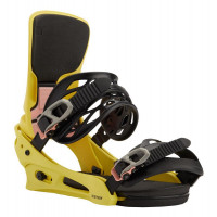 Burton Cartel X Re:Flex Mens Snowboard Bindings Yellow 2021