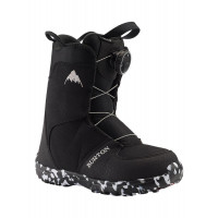 Burton Grom BOA Kids Snowboard Boots Black 2021
