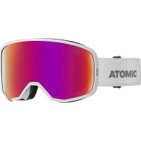 Atomic Revent Stereo Goggles White - Red Stereo Lens