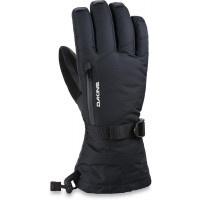 Dakine Womens Leather Sequoia Gore-Tex Gloves Black