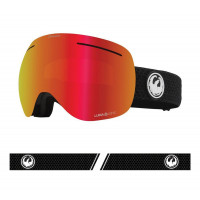 Dragon X1 Goggles Split - Lumalens Red Ion + Lumalens Light Rose 2021