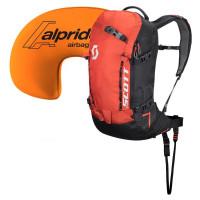 Scott Patrol E1 22L Avalanche Airbag Backpack Kit Burnt Orange/Black - Short Length