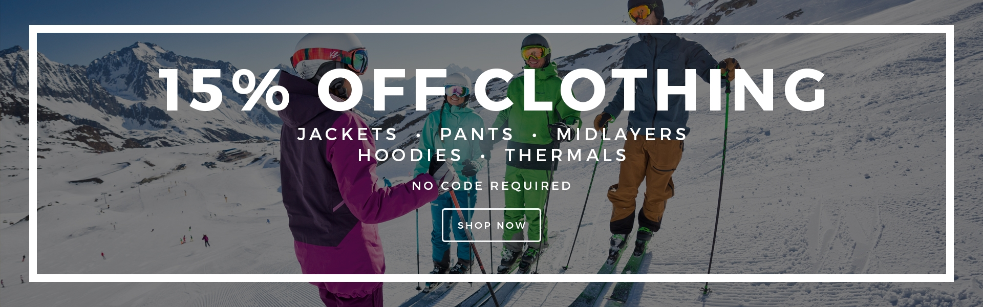 Discounted Ski and Snowboard Clothing