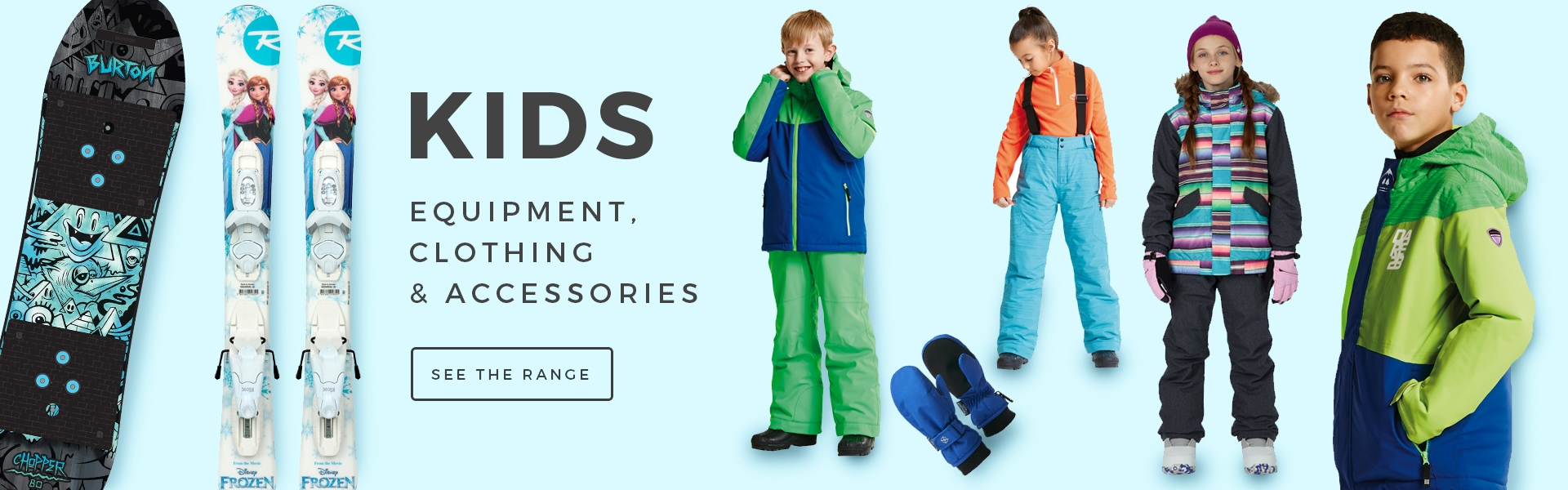 Buy Childrens Ski Clothing and Equipment Online