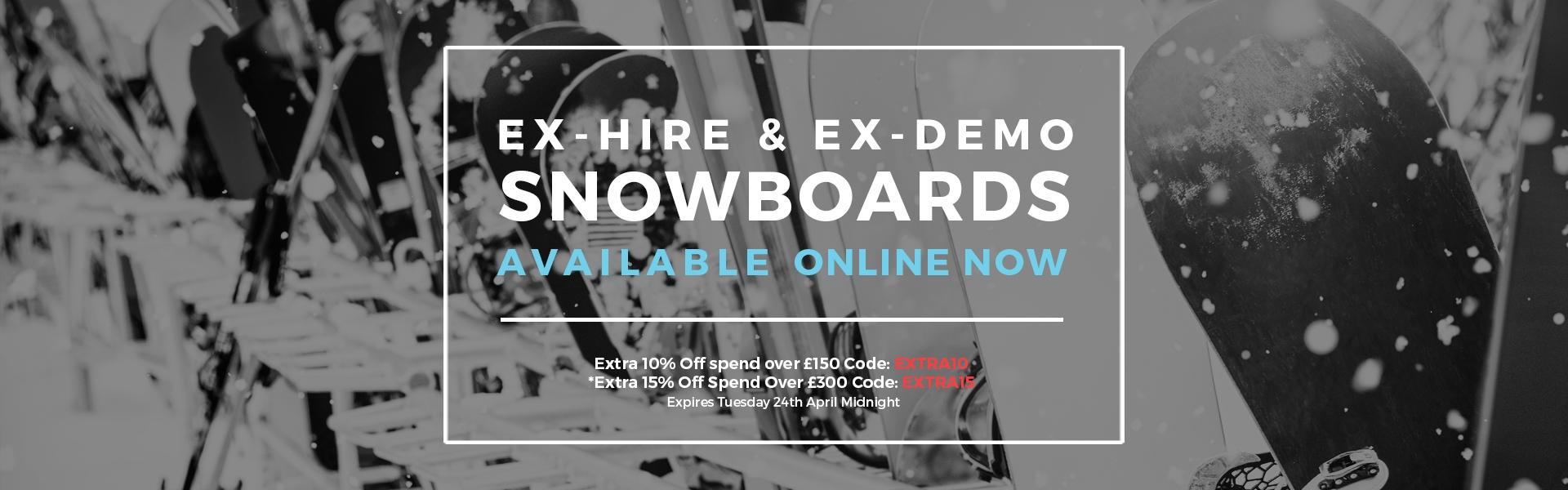 Buy Ex-Demo Snowboards Online