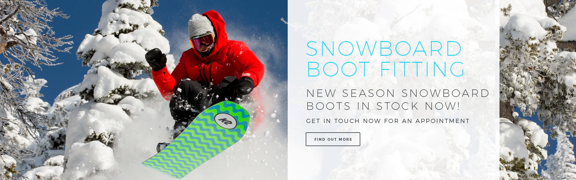 Snowboard Boot Fitting East Sussex