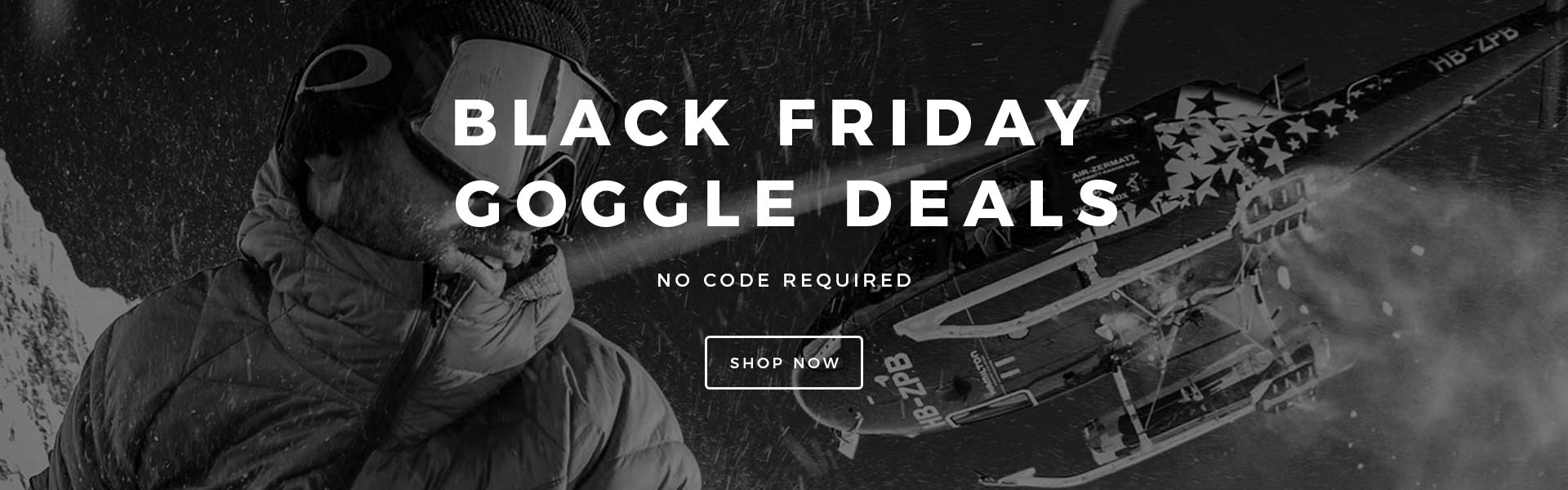 Black Friday Goggle Deals
