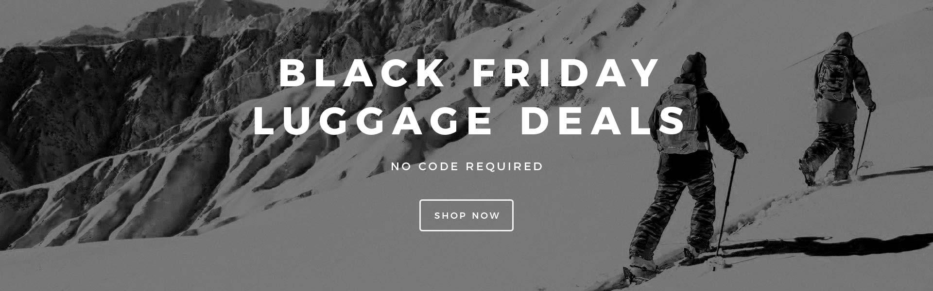 Black Friday Luggage Deals