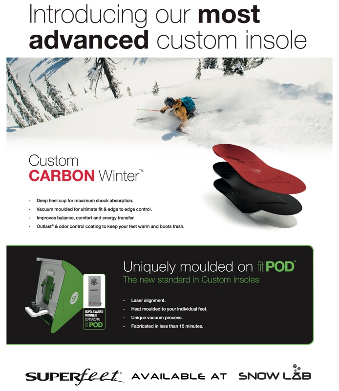 Superfeet Custom Footbeds For Ski Boots